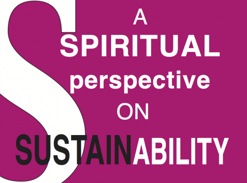 A spiritual perspective on sustainability